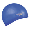 speedo Plain Moulded Bathing Cap blue